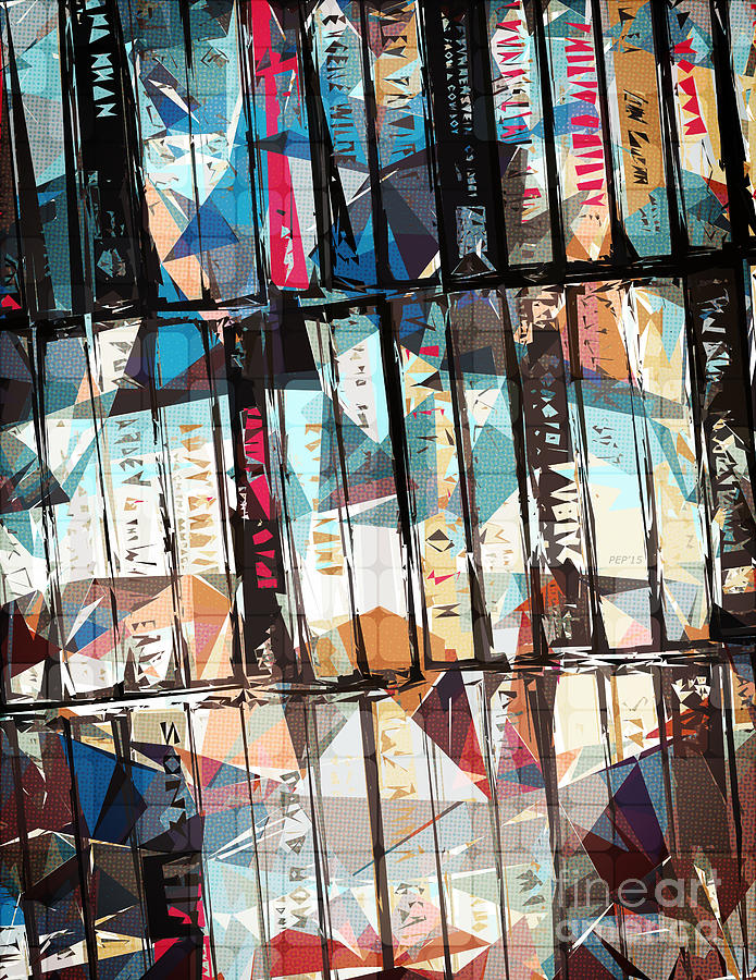 Music Digital Art - Musical Cassette Tapes Collage by Phil Perkins