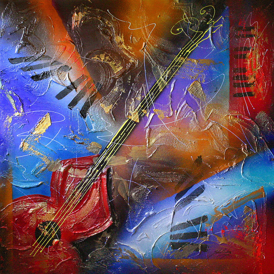 Music Painting - Musical Textures Series by Andrea Tharin