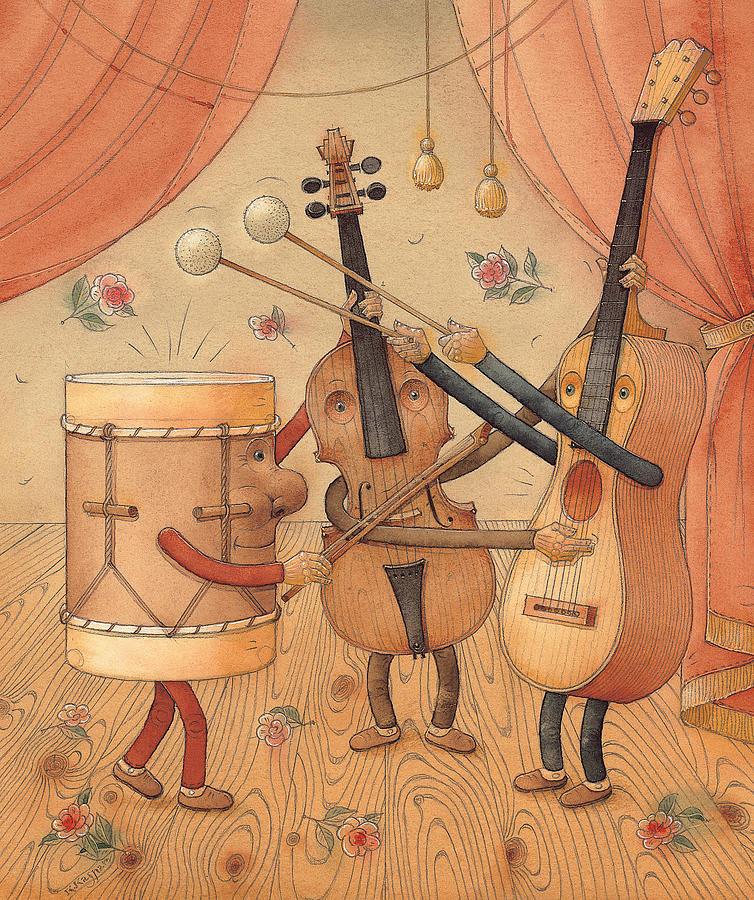 Марии, смешная картинка о музыкальных инструментах