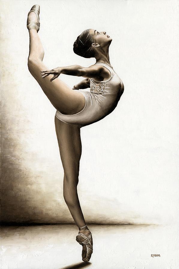 Musing Dancer Painting