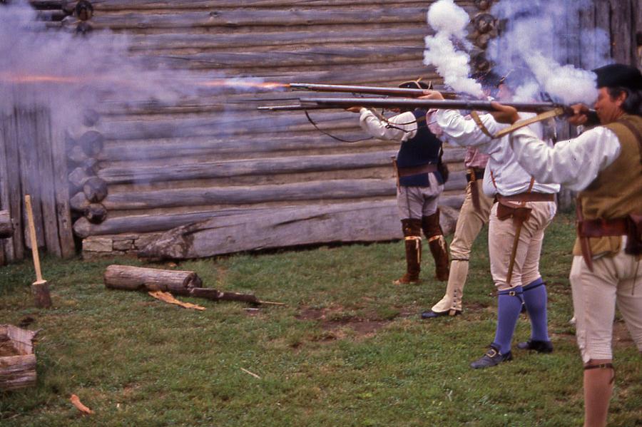 Nashville Photograph - Musket Fire - 1 by Randy Muir