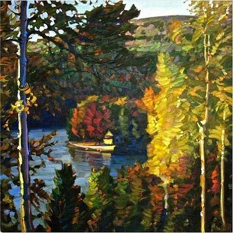 Landscape Painting - Muskoka  by Leif  Ostlund