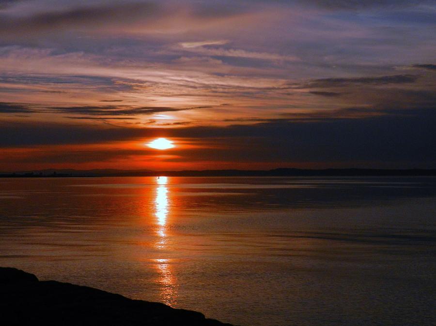 Nikon Photograph - Musselburgh Sunset by Nik Watt