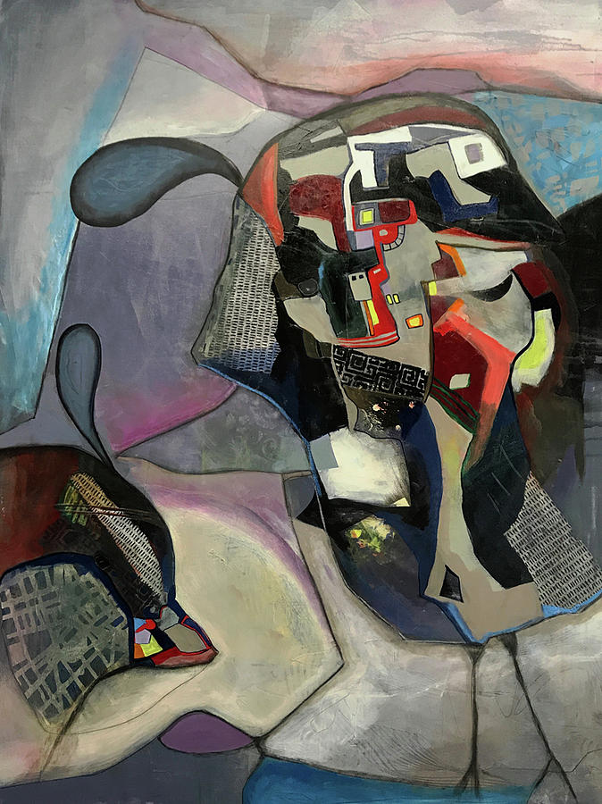 Acrylic Painting - Must Be Arizona by Judith Visker