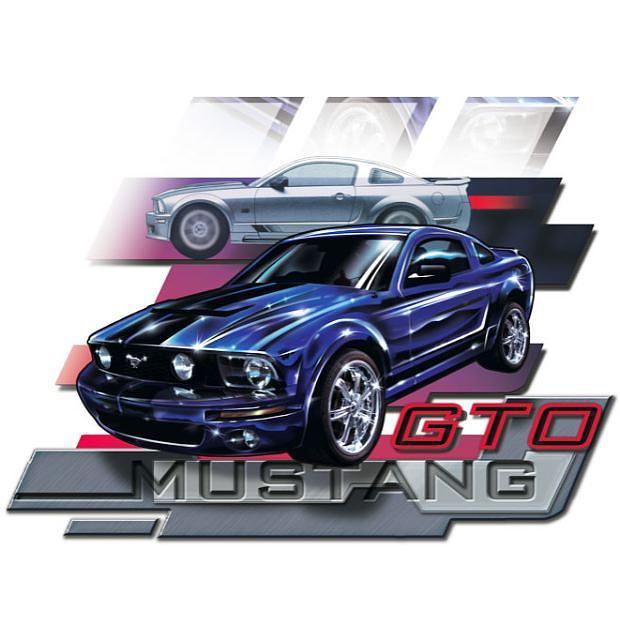 Mustang Gto Digital Art by Andres Salas