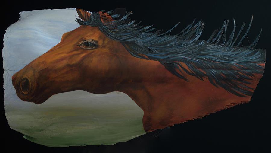 Mustang by Nancy Lauby