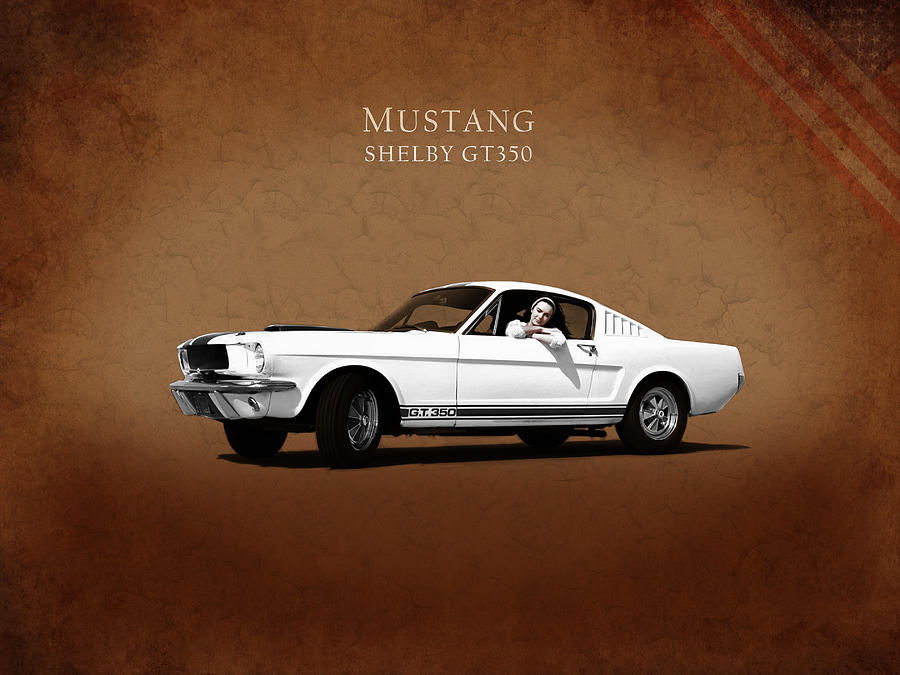 Ford Mustang Photograph - Mustang Shelby Gt 350 by Mark Rogan