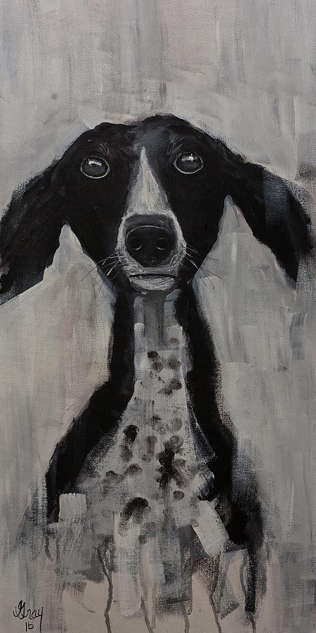Mutts Original Dog Portrait Painting Painting