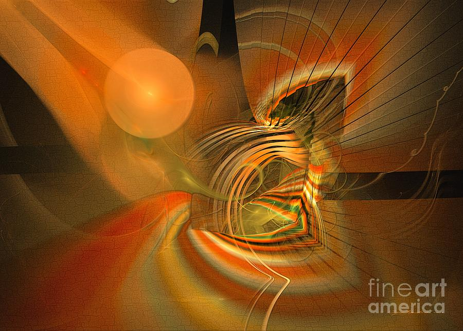 Mutual respect - Abstract art by Sipo Liimatainen