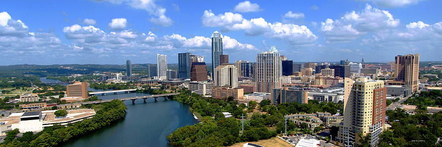 Austin Photograph - My Austin Skyline by James Granberry