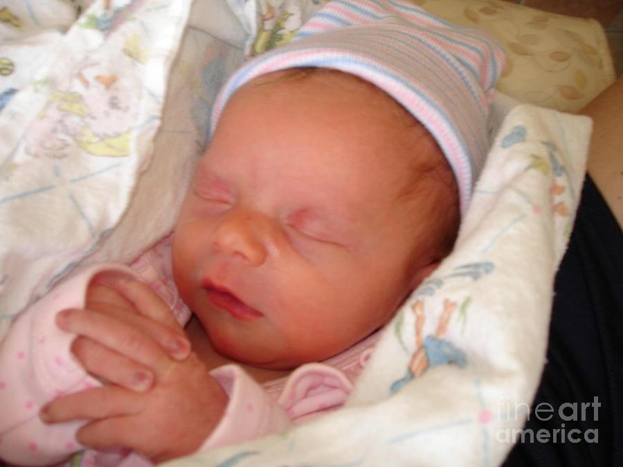 My Photograph - My Baby Prays II by Daniel Henning