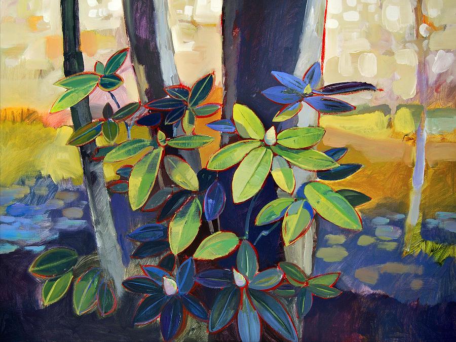 Landscape Painting - My Back Yard by Farhan Abouassali