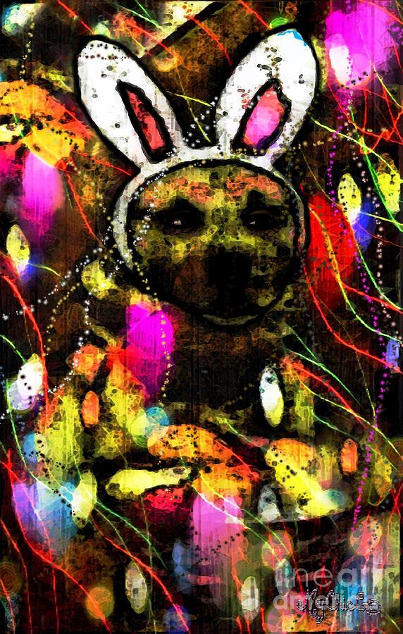 German Shepard Digital Art - My Bitch With Treats by Art by MyChicC
