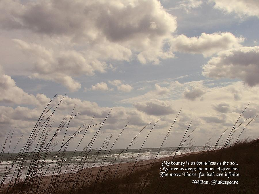 Seascape Photograph - My Bounty by Judy  Waller