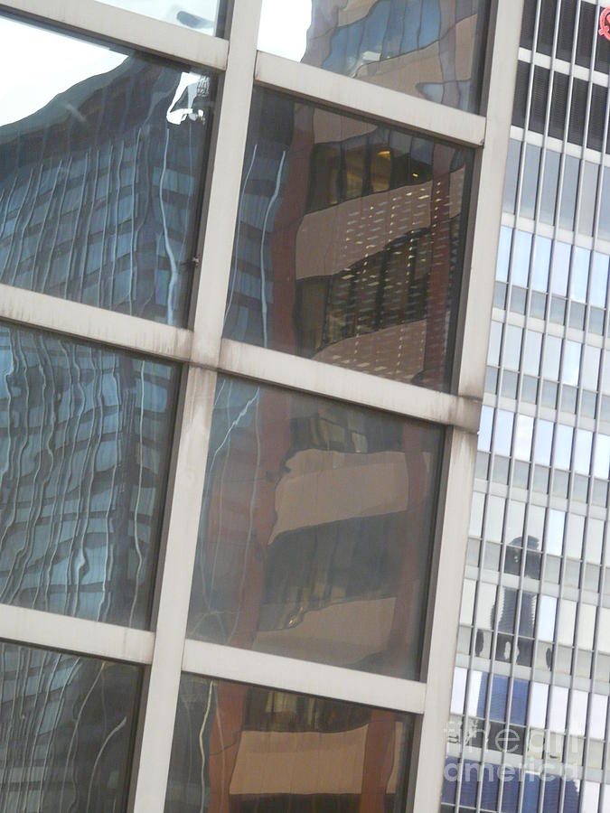 New York Photograph - My Building Or Yours by Donna McLarty