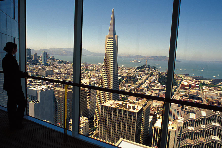 San Francisco Photograph - My City On The Bay by Carl Purcell
