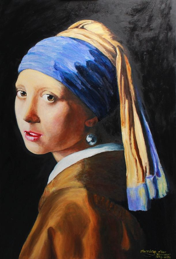 girl pearl earring analysis The painting is girl with a pearl earring by johannes vermeer  specks of paint  and did chemical and microscopic analyses of the samples.
