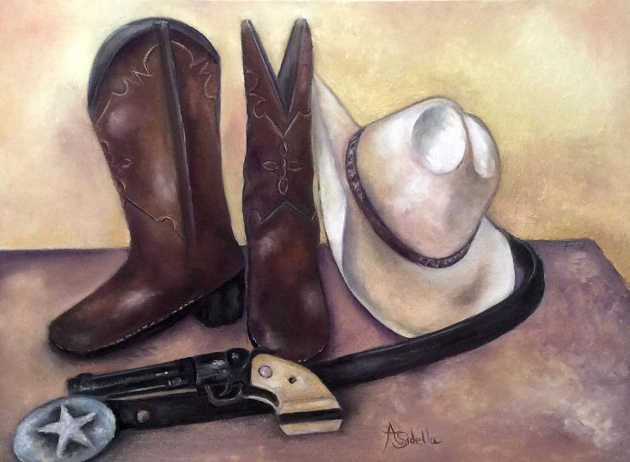 My Cowboy's Home by Annamarie Sidella-Felts