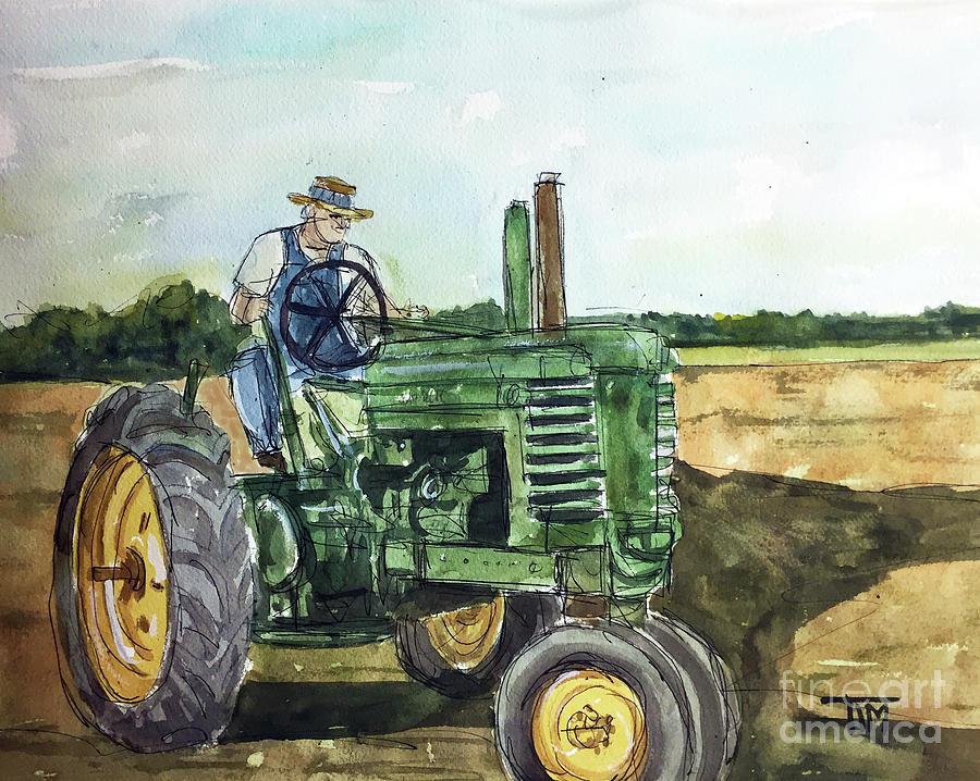 John Deere Painting - My Dear John Deere by Tim Ross