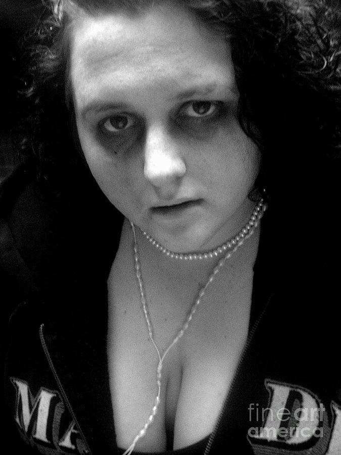 Portrait Photograph - My Dear by Meghann Brunney