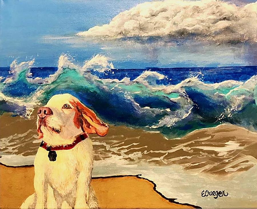 My Dog and the Sea #1 - Beagle by Esperanza J Creeger