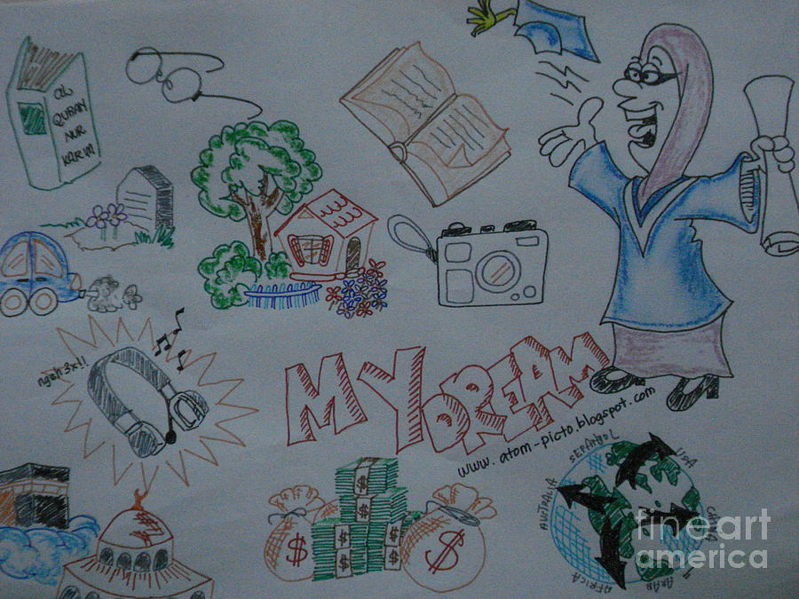 My dream drawing by mis atom for My dream house drawing