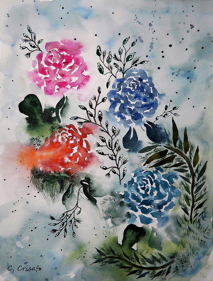My Fair Roses by Carol Crisafi