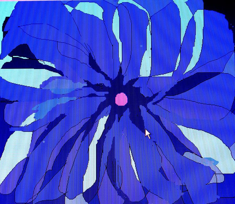 Flower Digital Art - My Fantastic Flower by Ian  MacDonald