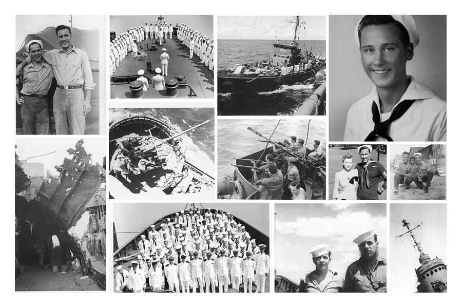 Navy Photograph - My Father by Karol Livote