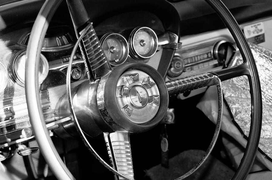 Steering Wheel Photograph - My Fathers Wheels by David Lee Thompson
