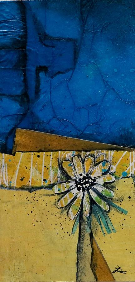 Collage Mixed Media - My Favorite Flower by Laura Lein-Svencner