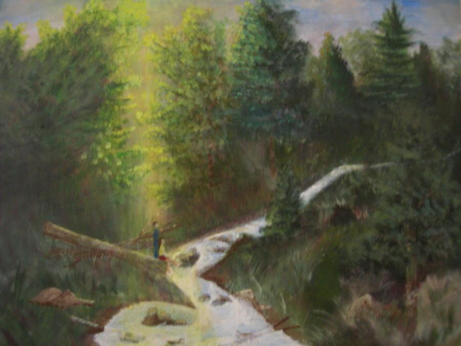 Landscape Painting - My Favorite Spot by Jack Hampton