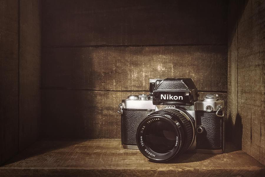 Nikon F2 Photograph - My First Nikon Camera by Scott Norris