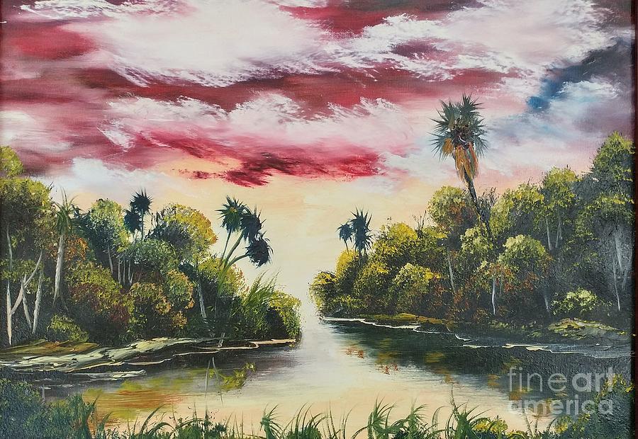 My Florida Sunset by MYRTLE JOY