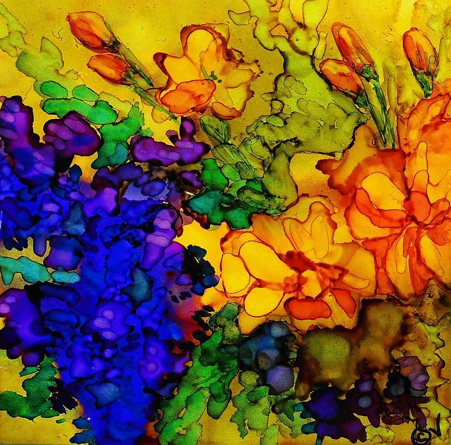 My Flower Box - 249 by Catherine Van Der Woerd