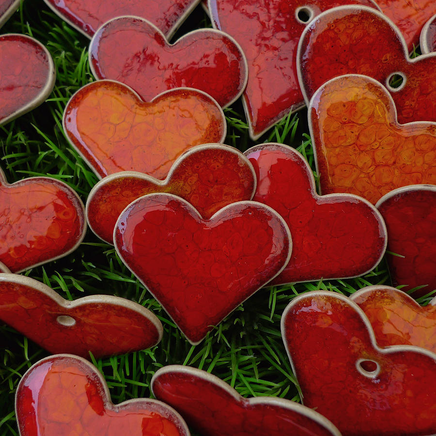 Hearts Photograph - My Funny Valentine by Marcus Hammerschmitt