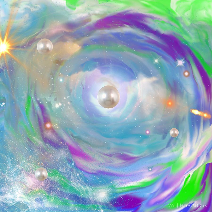 Galaxy Digital Art - My Galaxy Too by Cheryl Fulton