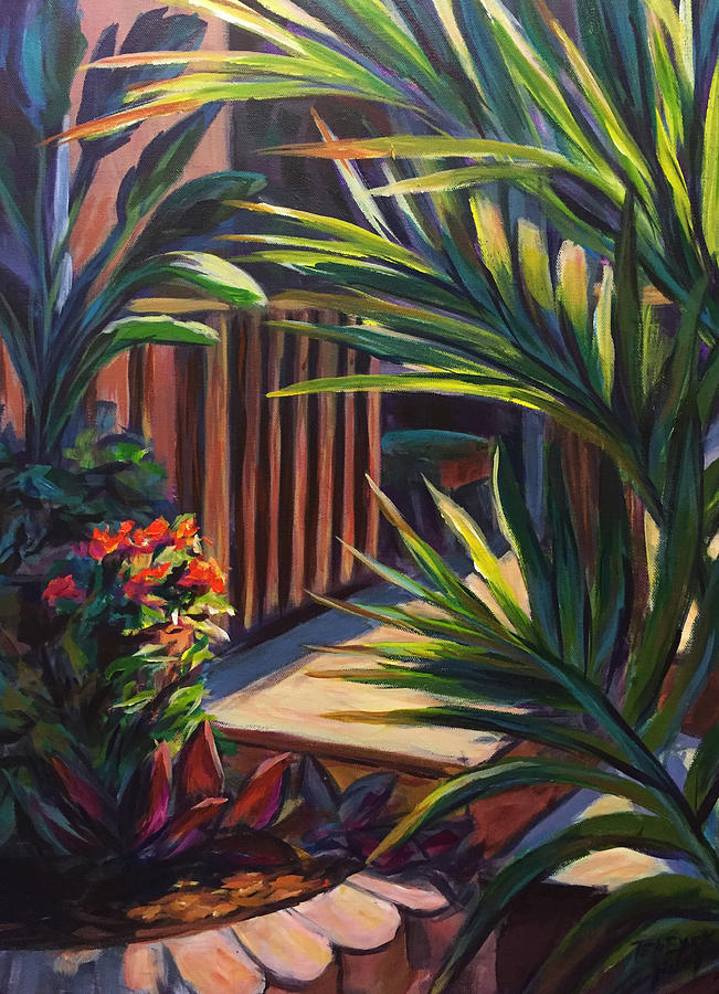 My Garden I  by Gretchen Ten Eyck Hunt