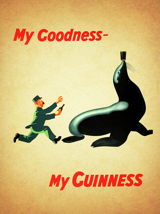 Guinness Photograph - My Goodness My Guinness 1 by Mark Rogan