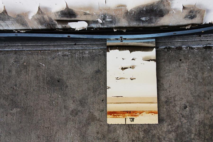Mirror Photograph - My Hand Has Got Frickin Carpel Tunnel by Meg Andrews