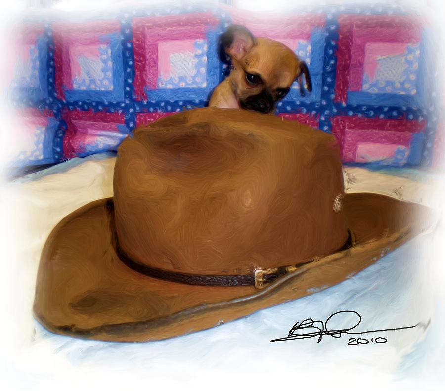 Teacup Chihuahua Photograph - My Hat by Beverly Johnson