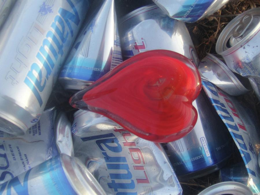 Beer Photograph - My Hearts Drunk With Love by WaLdEmAr BoRrErO