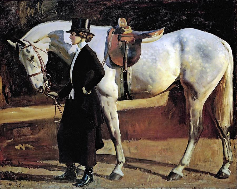 My Horse is my Friend  by Alfred James Munnings