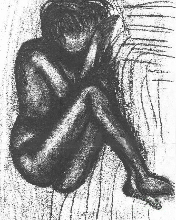 Drawing Drawing - My Humble Spirit Base Drawing by Angela L Walker