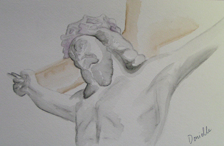 Jesus Painting - My Jesus by Donielle Boal
