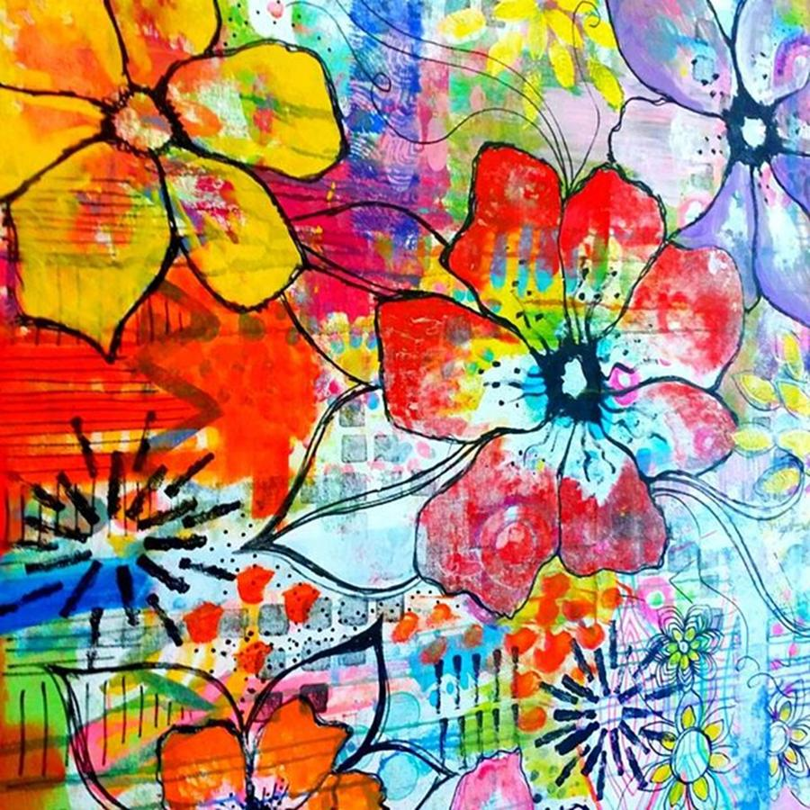 Mural Photograph - My Kitchen Wall At The Moment..have Not by Robin Mead