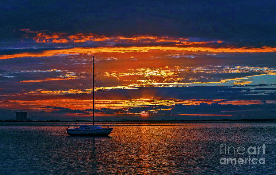Sunrise Photograph - My Last Sunrise At 56 by Davids Digits