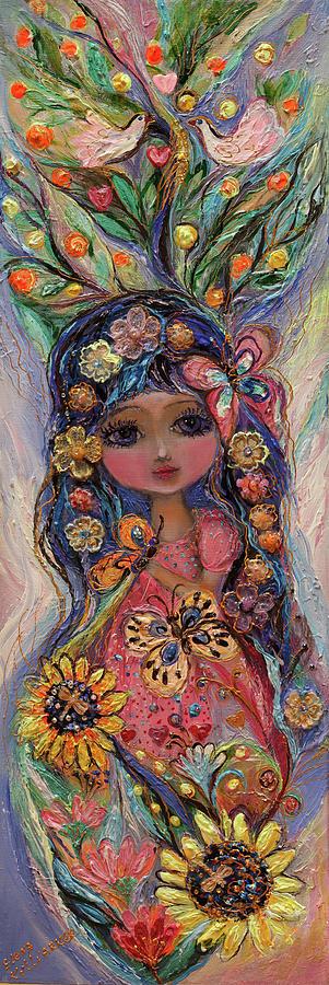 Portrait Painting - My Little Fairy Penelope by Elena Kotliarker