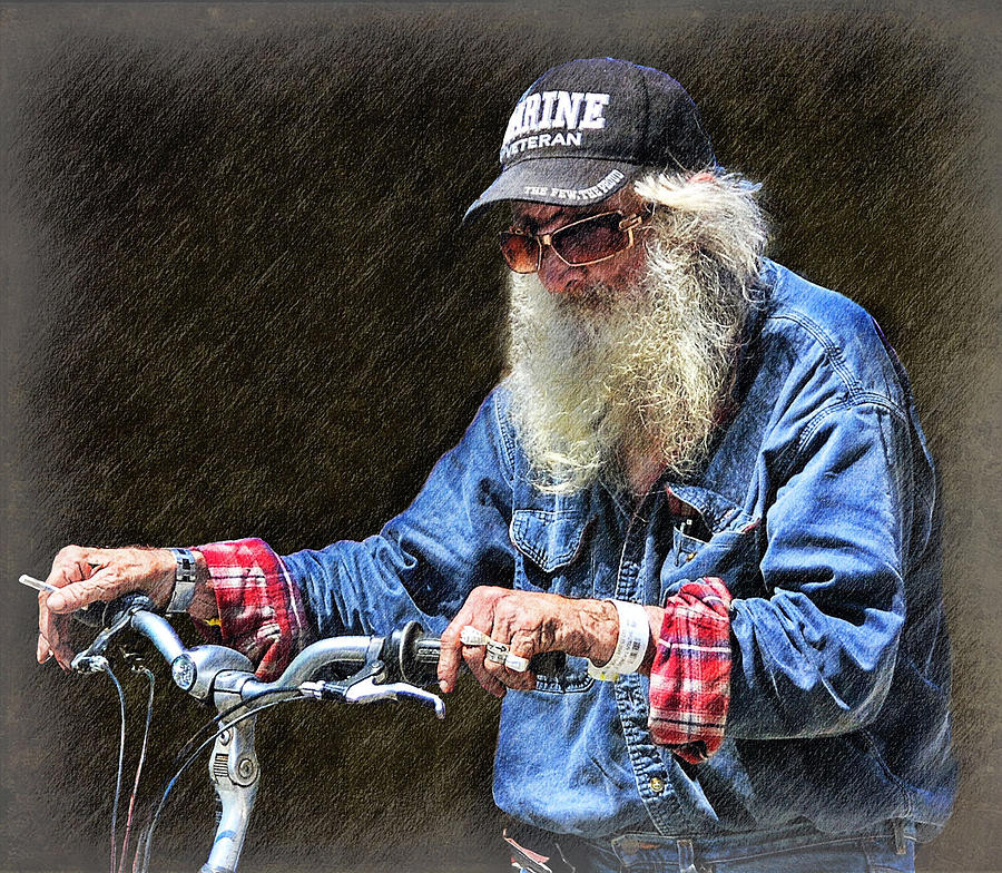 Homeless Digital Art - My Loneliness Is Sometimes So Arresting by Bob Kramer