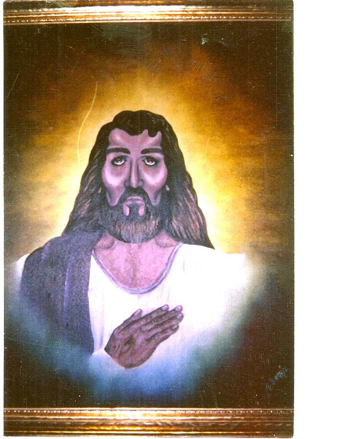 Jesus Painting - My Lord by Cleautrice Smith
